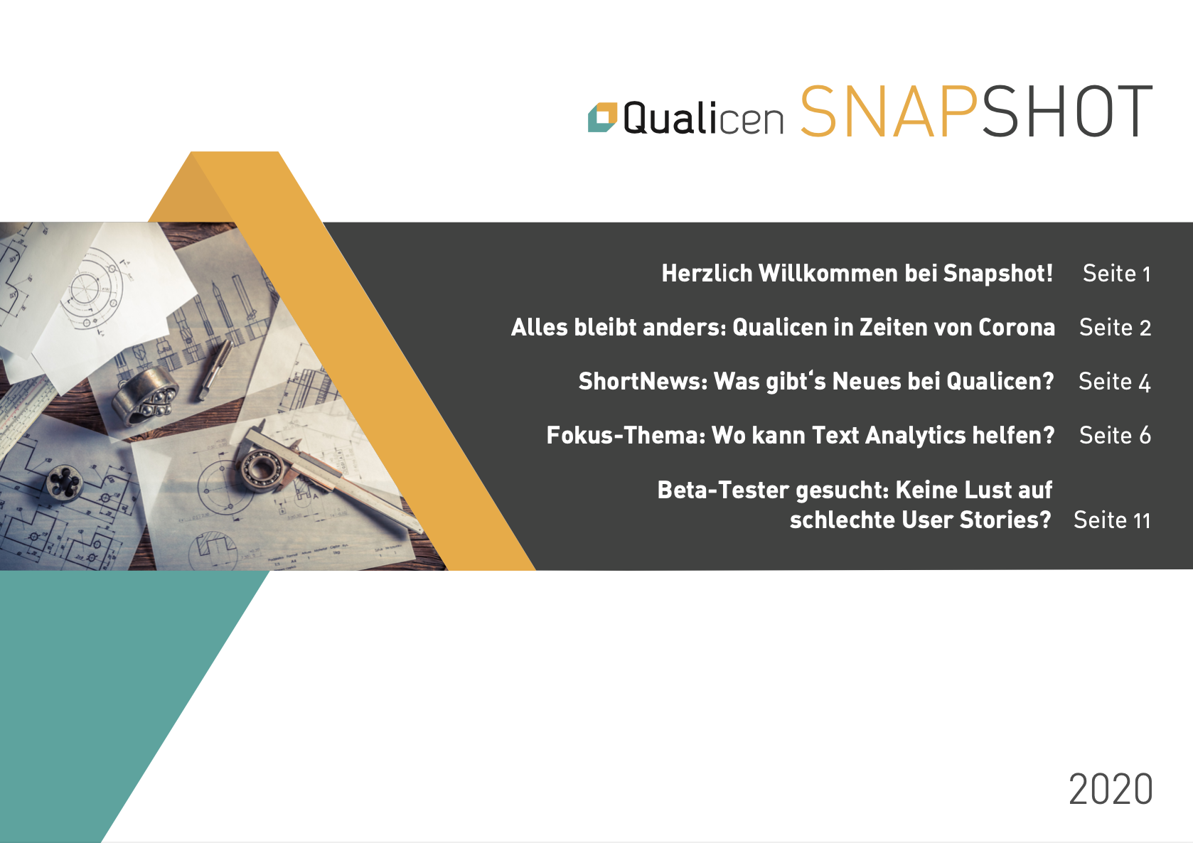 Presenting to You: Qualicen Snapshot [in German]