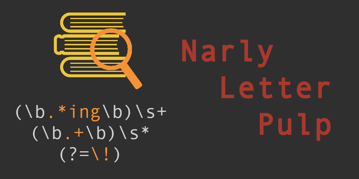 Into NLP 1 – Regular Expressions